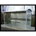 Автобусна зупинка металева