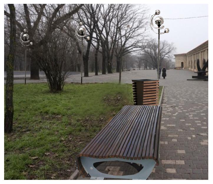 """Функціональна лавка серіі """"ЄВРО"""""""